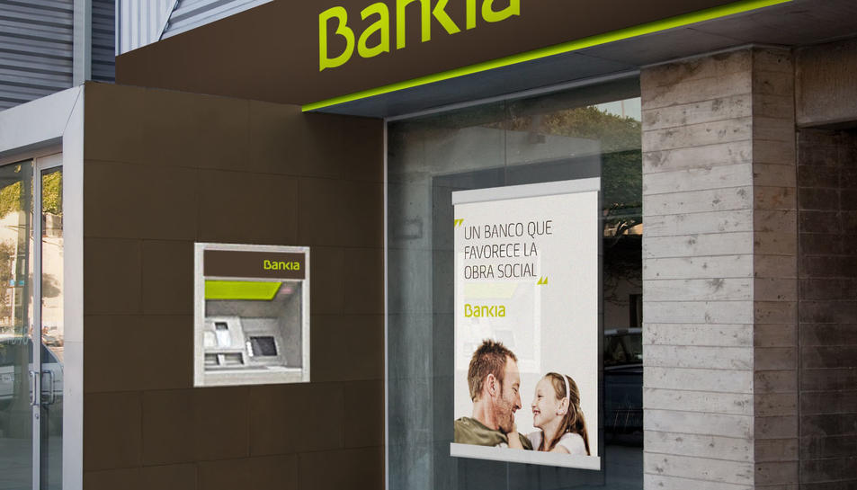 Imatge d'una oficina de Bankia.