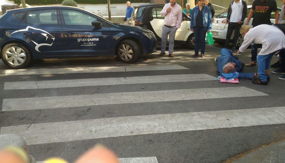L'atropellament ha tingut lloc a l'Avinguda