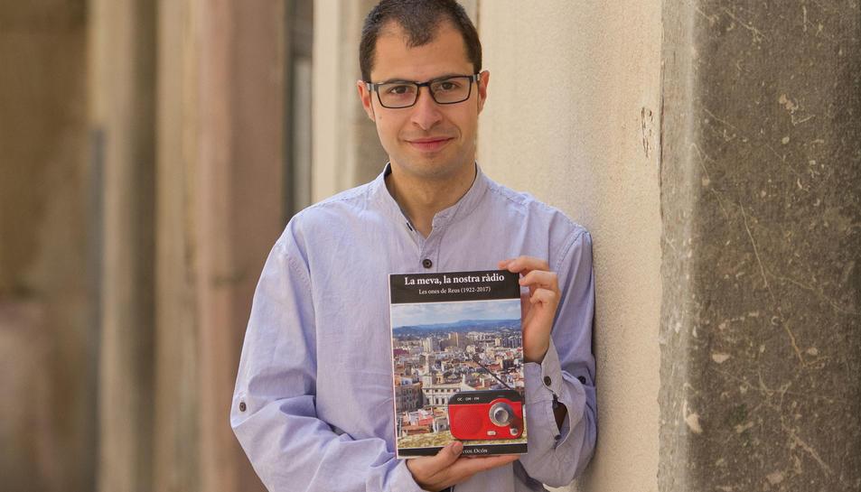 L'autor del llibre, Albert Sunyol.