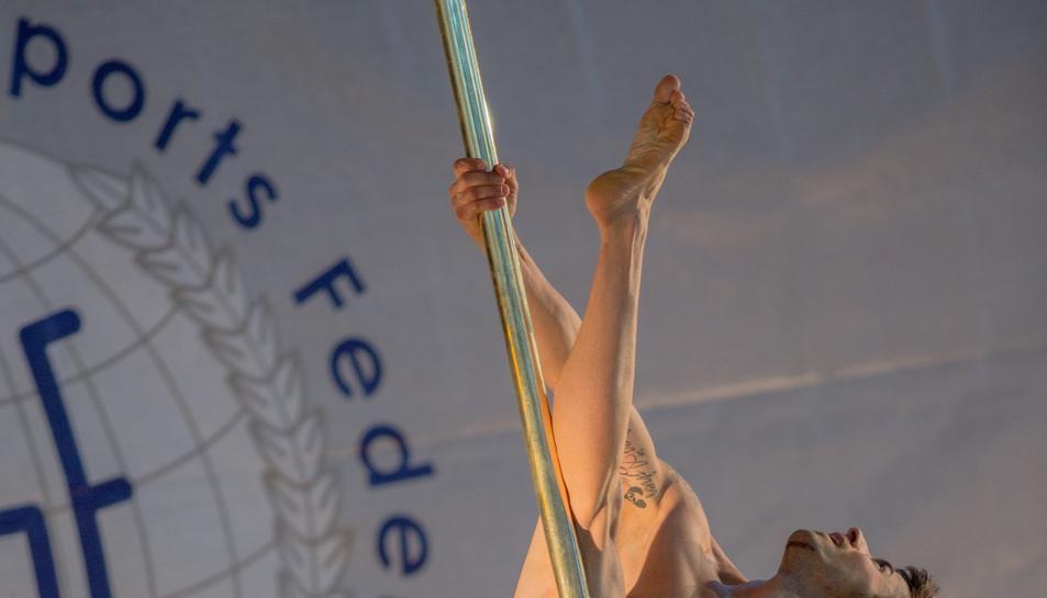 Christian Fernández, d'ArtMove Studio, és setè del món en la pràctica de Pole Sport.