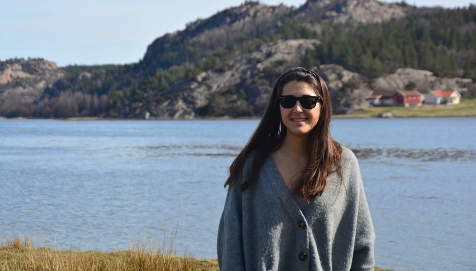 La Maria viu a Suècia, on està realitzant una estada de mobilitat Erasmus.