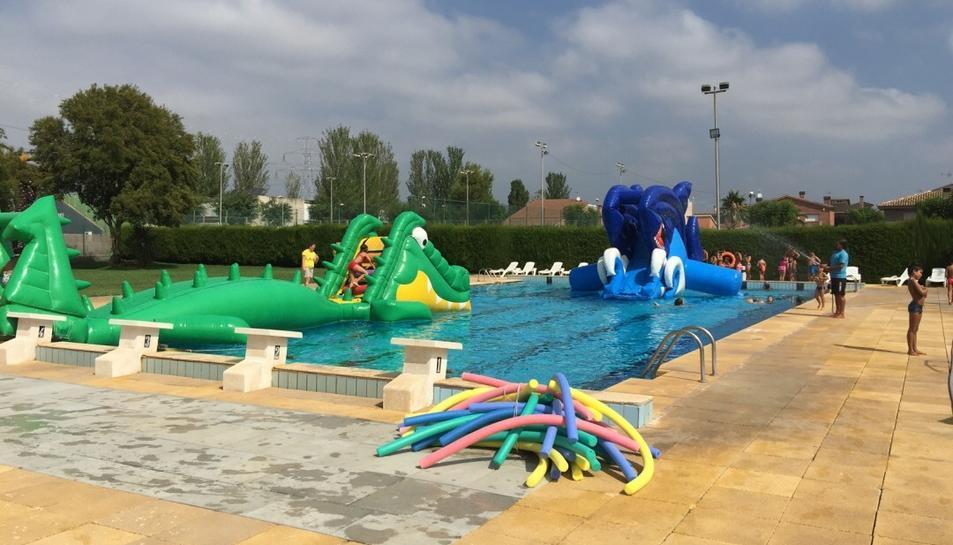 Imatge d'arxiu de les piscines municipals del Morell.