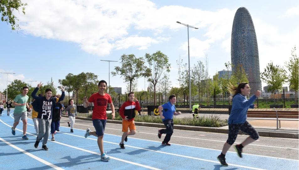 L'acte principal es realitzarà a la zona esportiva de les Glòries, a Barcelona.