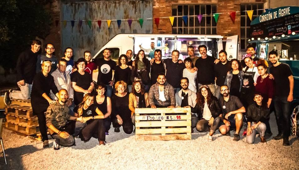Fotografia de família de Lacasablava un cop finalitzada l'edició de 2016.