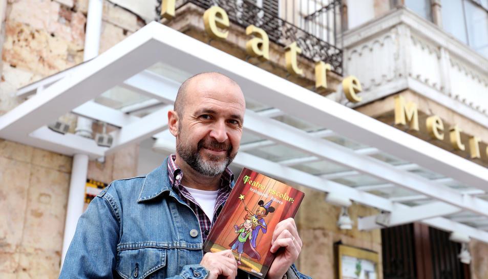 Vicenç Cañón fa classes de teatre a diverses escoles de Tarragona