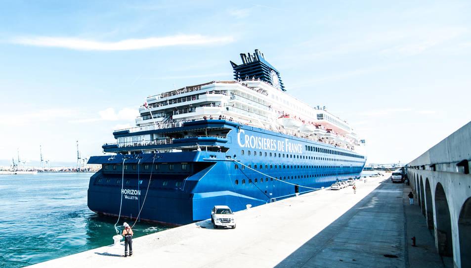 El vaixell ja va atracar al Port de Tarragona la temporada passada.