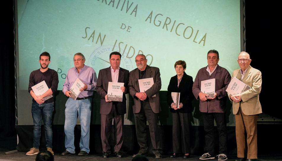 Imatge de la presentació del llibre dedicat a la cooperativa agrócila.
