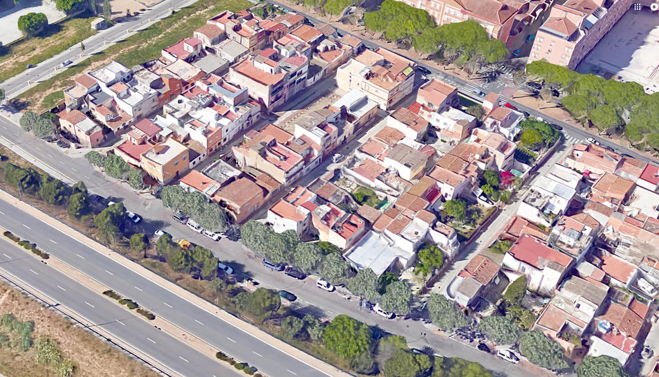 La zona de Mas Abelló es vigilarà des d'una torre plena de càmeres.
