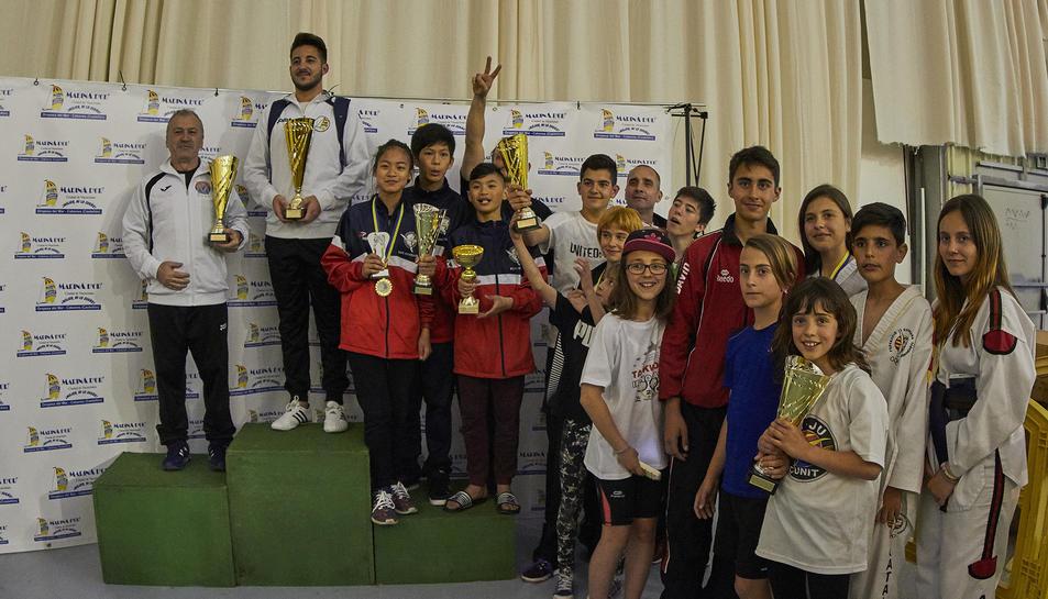 L'esdeveniment va comptar amb 1.400 esportistes participants.