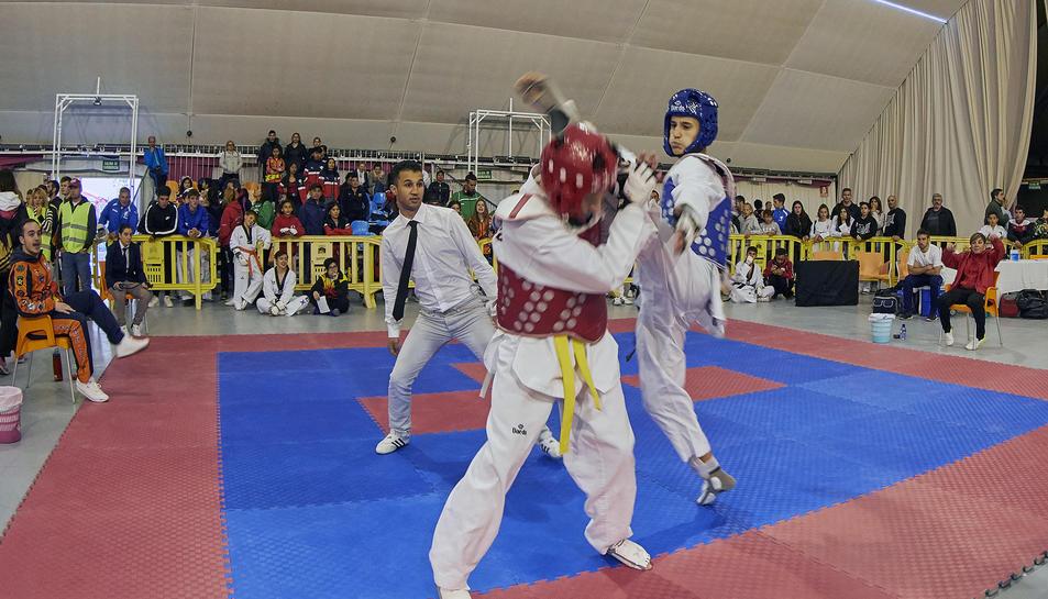 En l'Open hi van participar 1.400 esportistes.