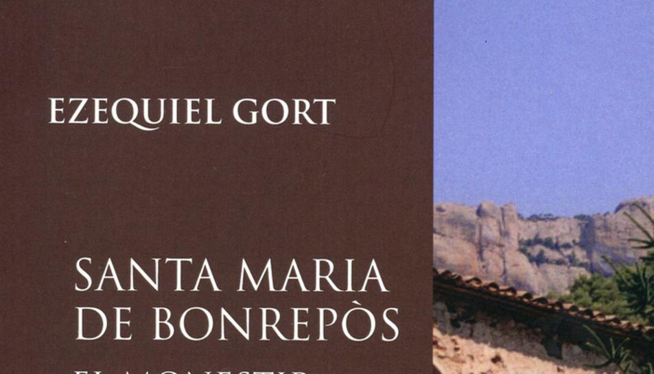 Imatge portada llibre Ezequiel Gort sobre el monestir de Bonrepòs