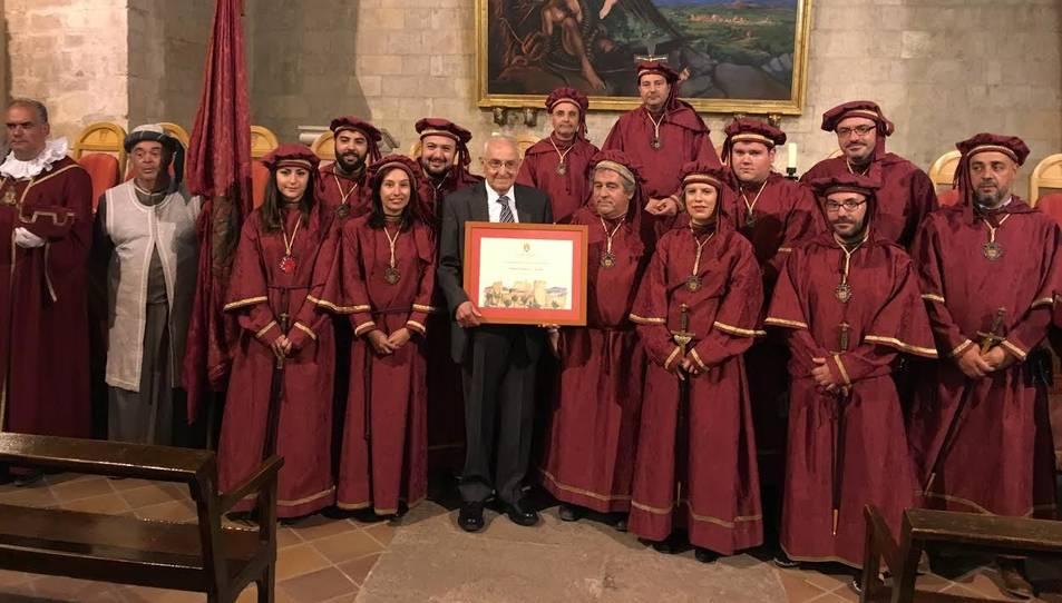 L'acte on es va aprovar el nomenament del montblanquí.