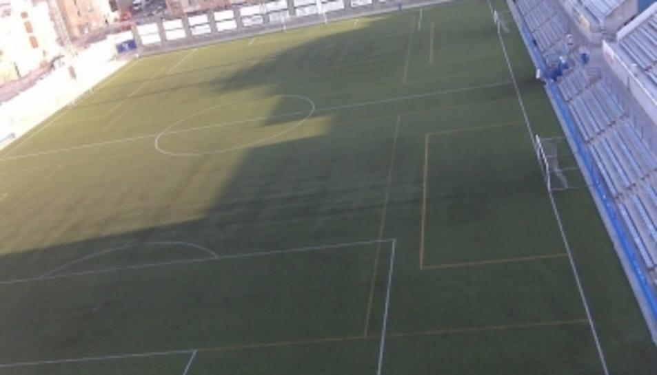 La jornada lúdica i esportiva se celebrarà al camp de futbol municipal de Torreforta