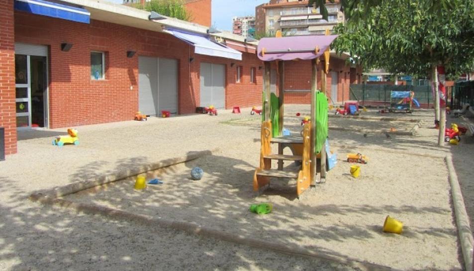 La llar d'infants del Cèsar August és una de les que podria acabar gestionada per l'Ajuntament.