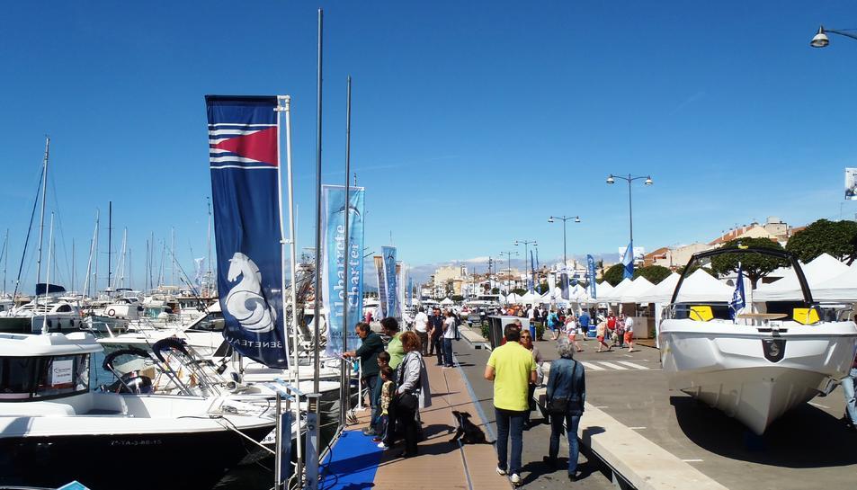 Una imatge de la passada edició de la Fira Marítima de la Costa Daurada.