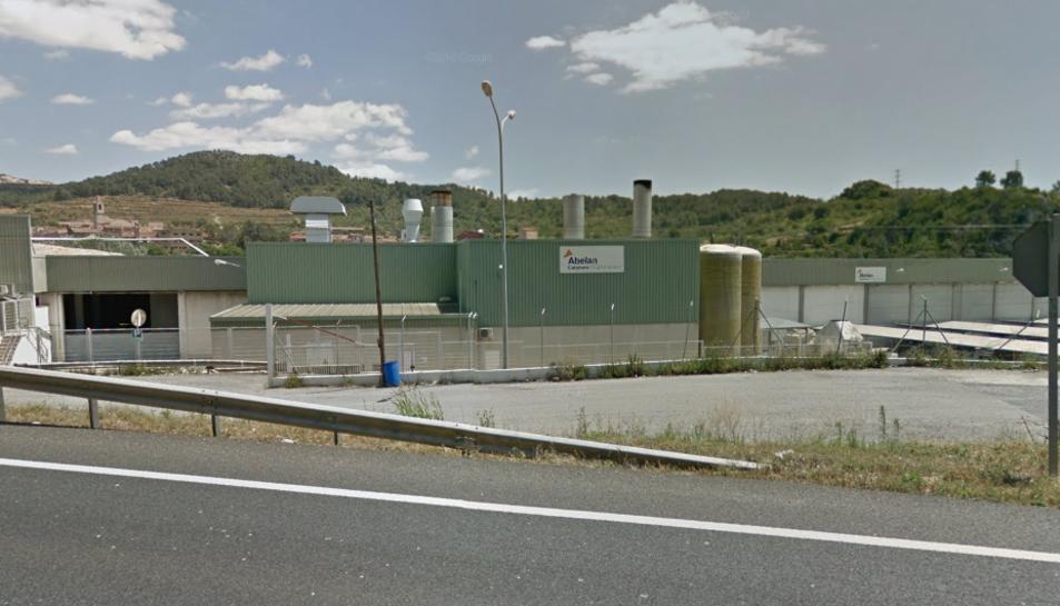 Planta de producció d'Abelan Catalana a Alcover.