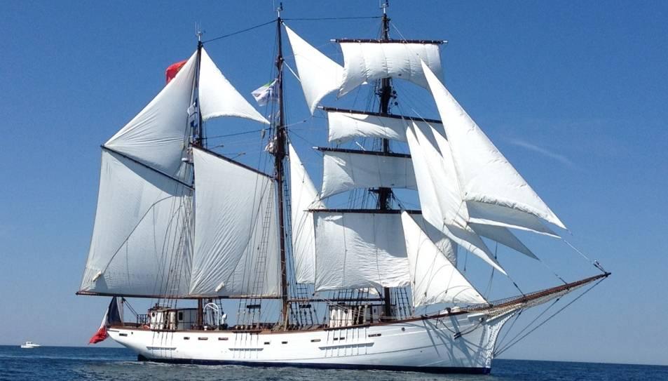 L'embarcació es podrà visitar dissabte i diumenge.
