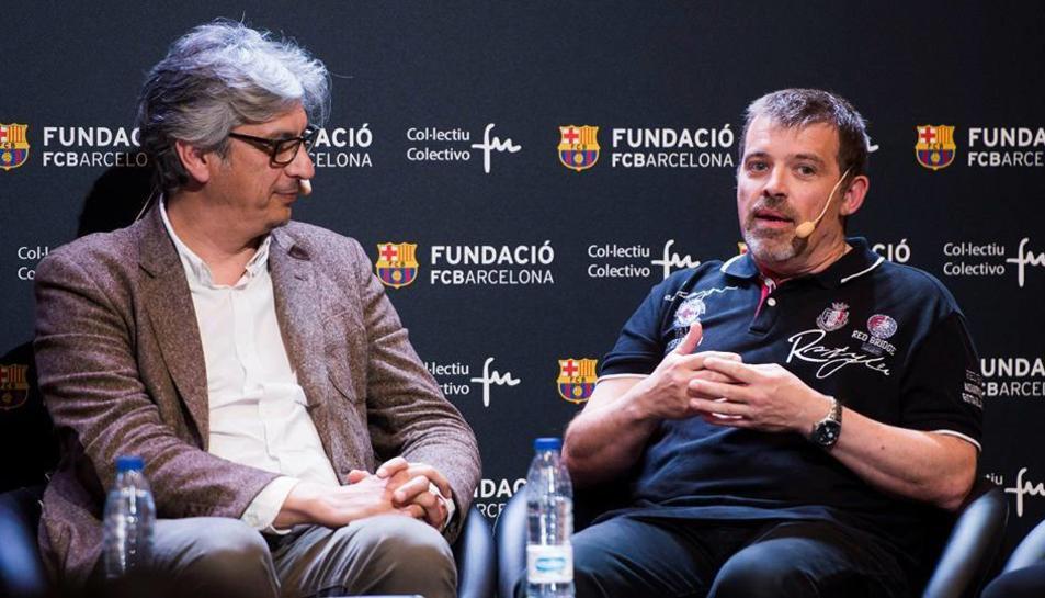 La taula rodona va tenir lloc a Barcelona.