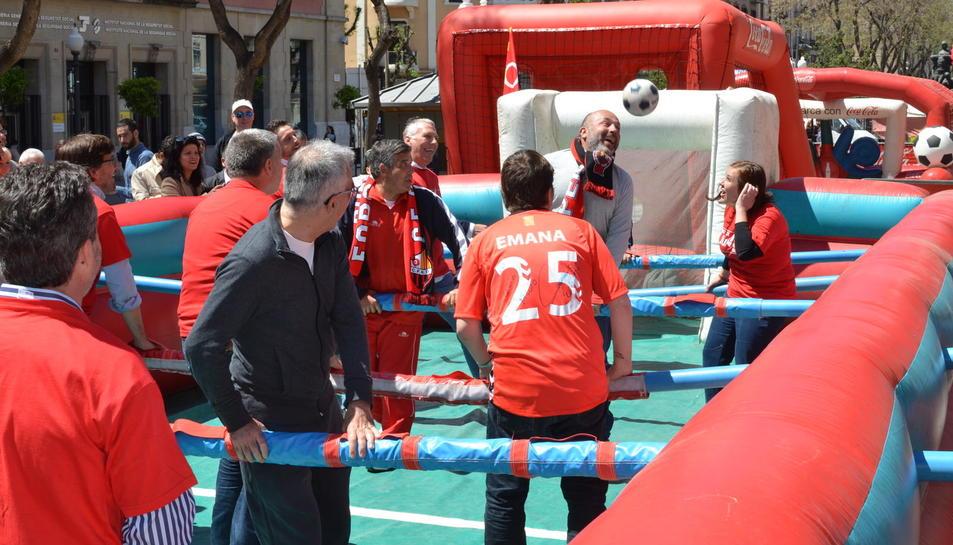 Festa social del Nàstic abans del derbi amb el CF Reus