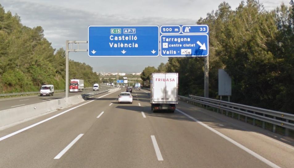 L'accident s'ha produït a l'AP-7 al seu pas per Tarragona.