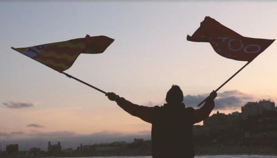 El vídeo pretén motivar als aficionats del Nàstic que aniràn al Nou Estadi a animar a l'equip grana.