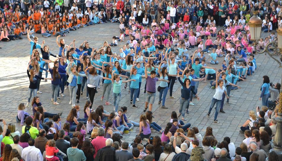 Imatge dels actes programats a Reus el Dia Internacional de la Dansade l'any passat.