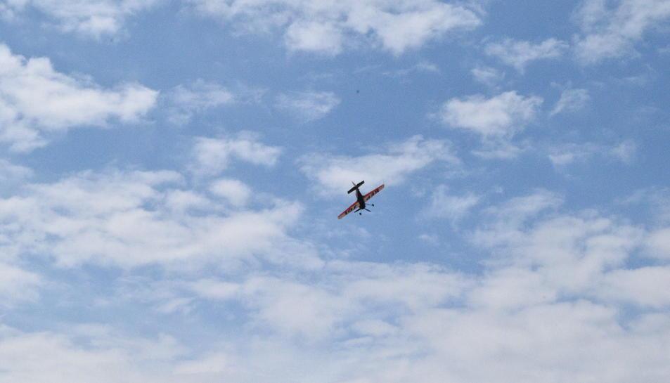 Exhibició aèria a Tarragona