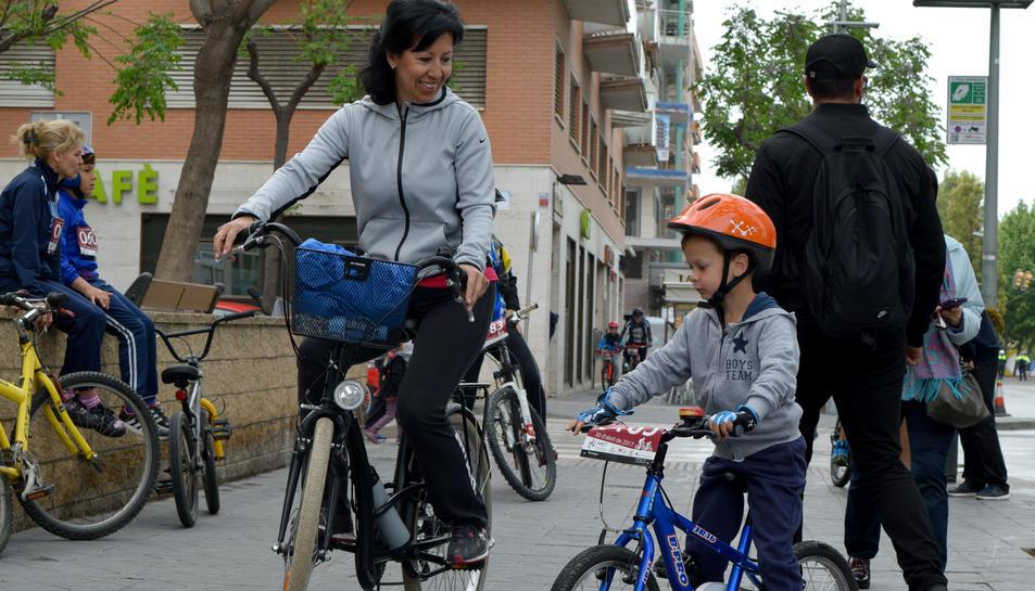 Sortida de la Bicicletada (1)