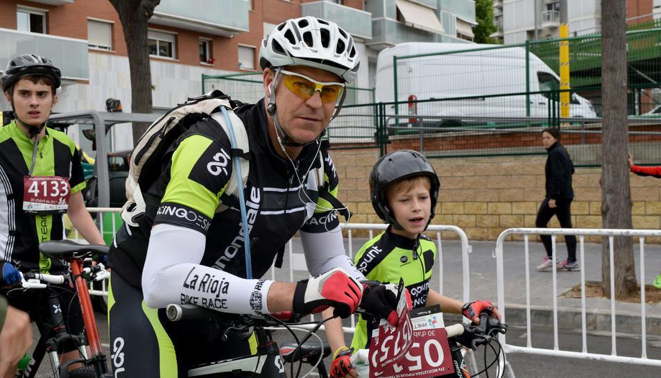Gran participació a la Bicicletada