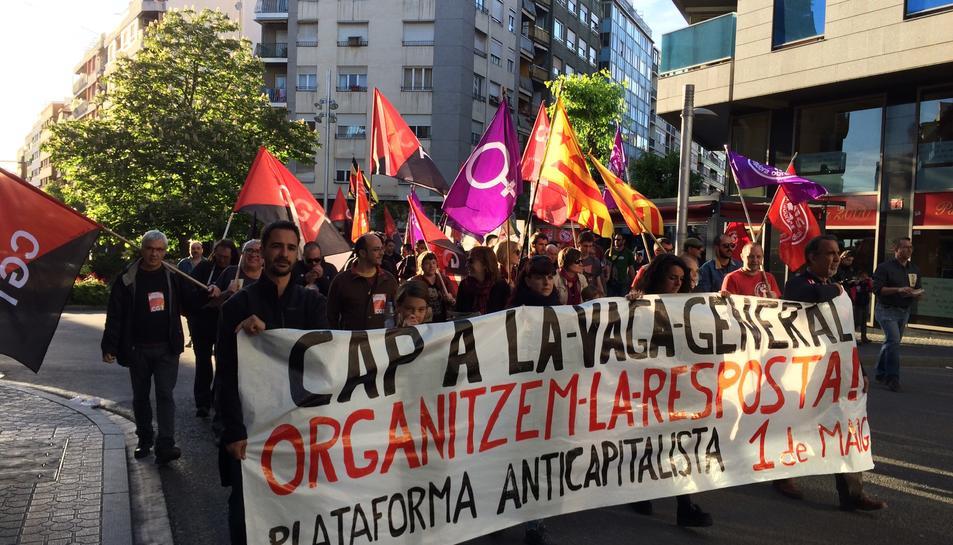La CUP, cercles de Podem, la CGT, Co.bas i la PAH són algunes de les organitzacions que hi han participat.