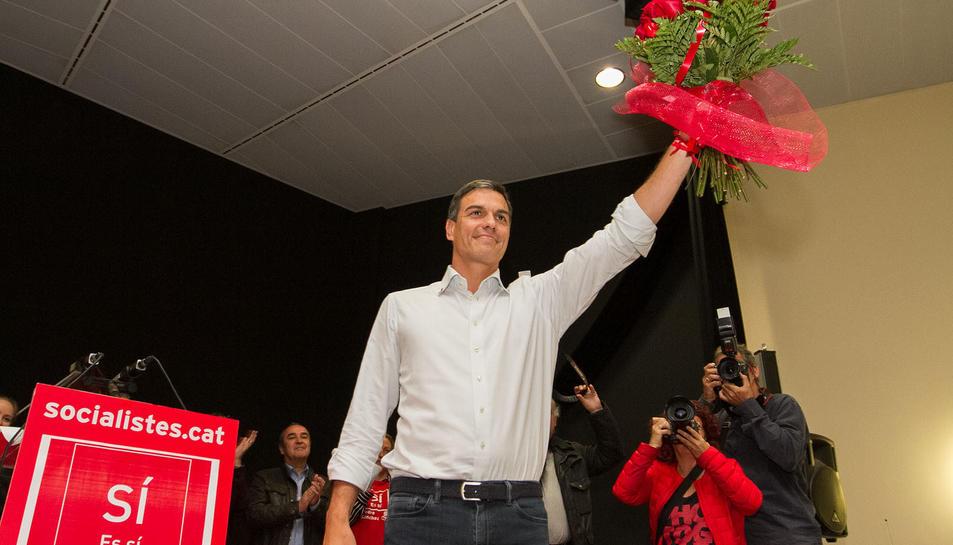 Pedro Sánchez a Bonavista