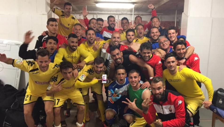 Folch ha penjat aquesta fotografia de la celebració dels jugadors a Twitter.