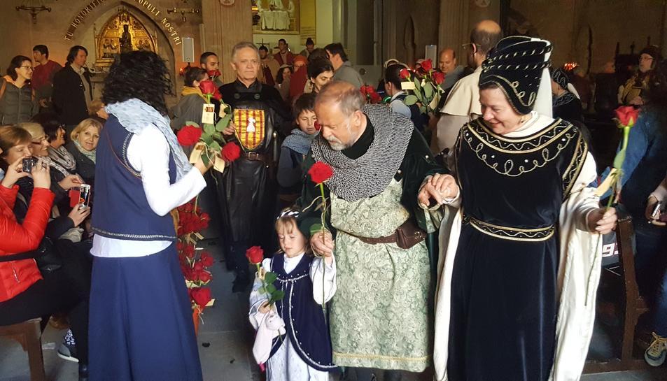 L'acte de la cloenda de la 30a Setmana Medieval.