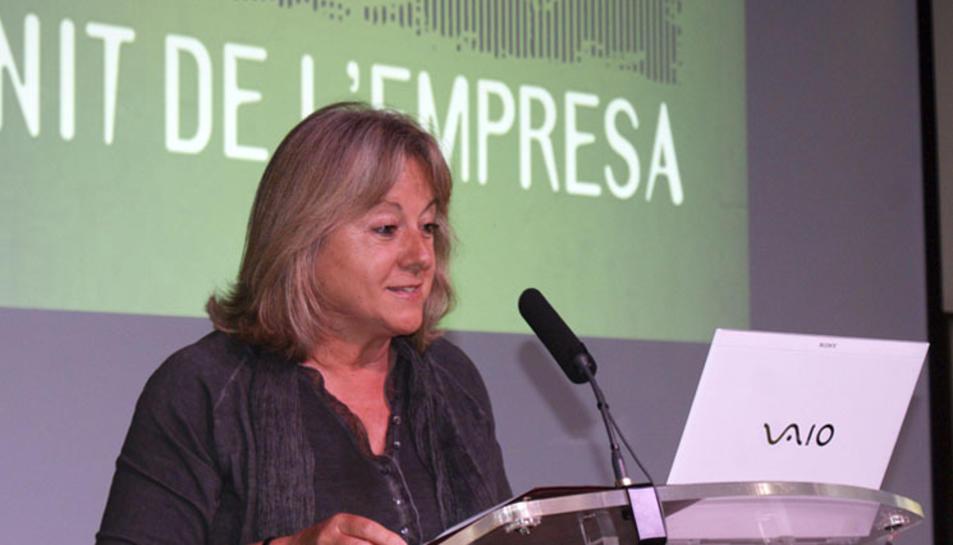 Imatge d'arxiu de Mundi quan era alcaldessa de Sant Quirze del Vallès per CiU.