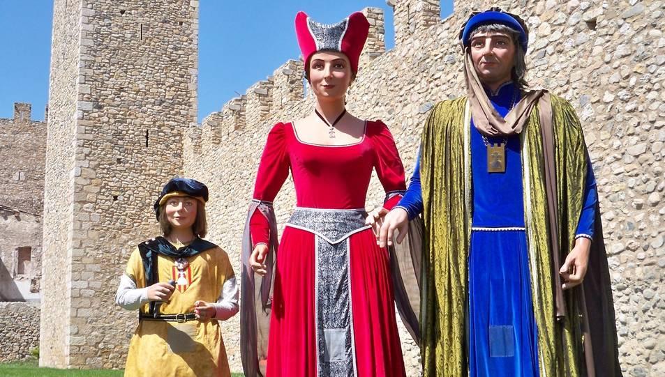 Els gegants Veguers de Montblanc seran els amfitrions de la trobada.