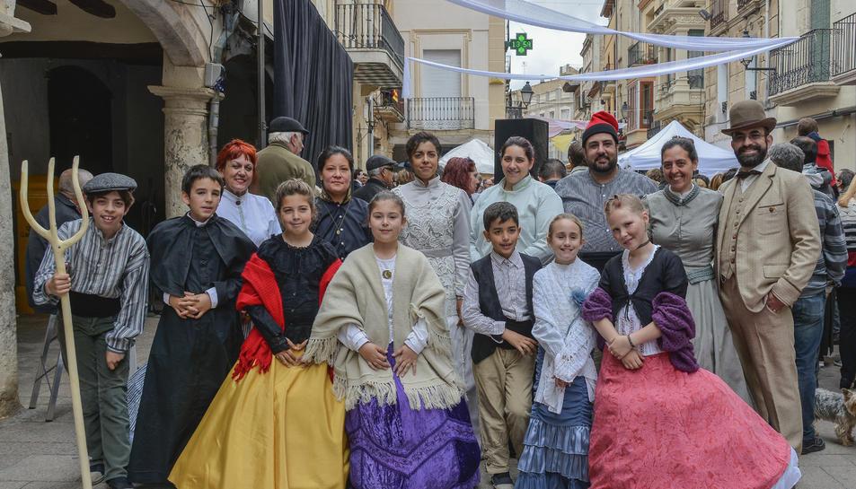 Els Amics del Rei Josep es van estrenar a la VI Fira Modernista del Penedès