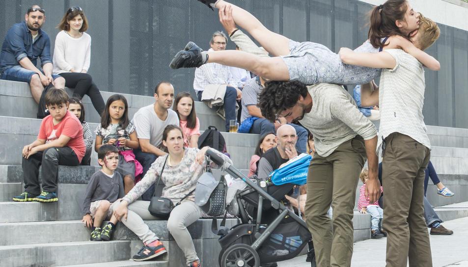 L'espectacle de Dantzaz es representarà per diversos carrers de la ciutat.