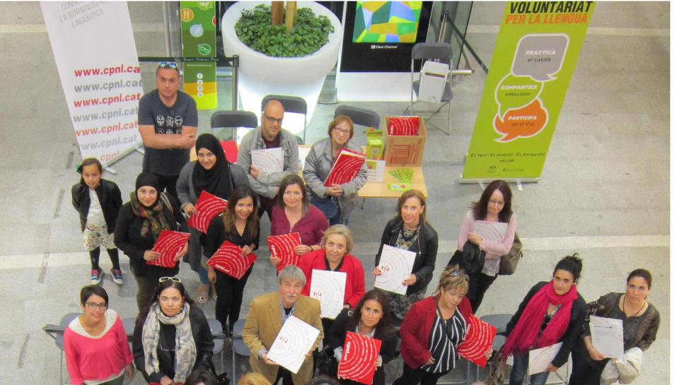 Les trenta-vuit noves parelles del programa Voluntariat per la llengua del CNL de l'Àrea de Reus.