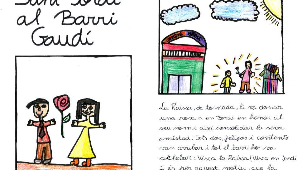 El llibre ha estat il·lustrat pels nens i nenes del Centre Obert Mestral.