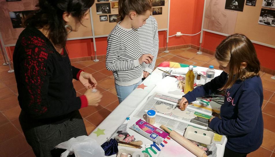 Imatge de la primera edició del taller familiar 'El tresoret de mots'