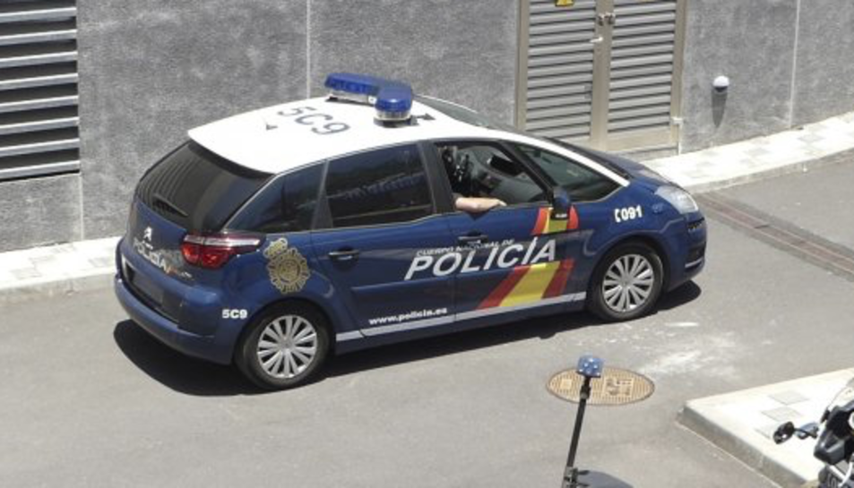 Imatge d'arxiu d'un cotxe de la Policia Nacional.