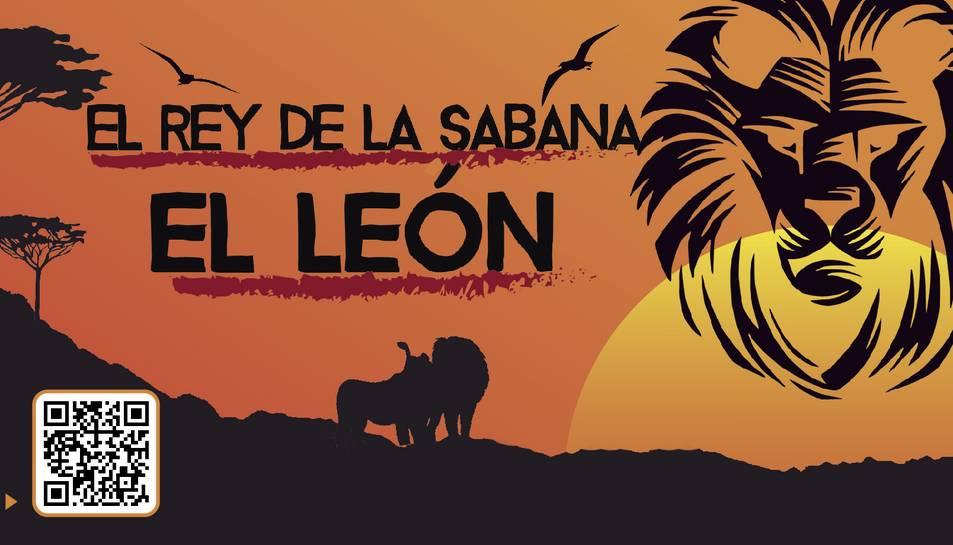 El león, rey de la sabana