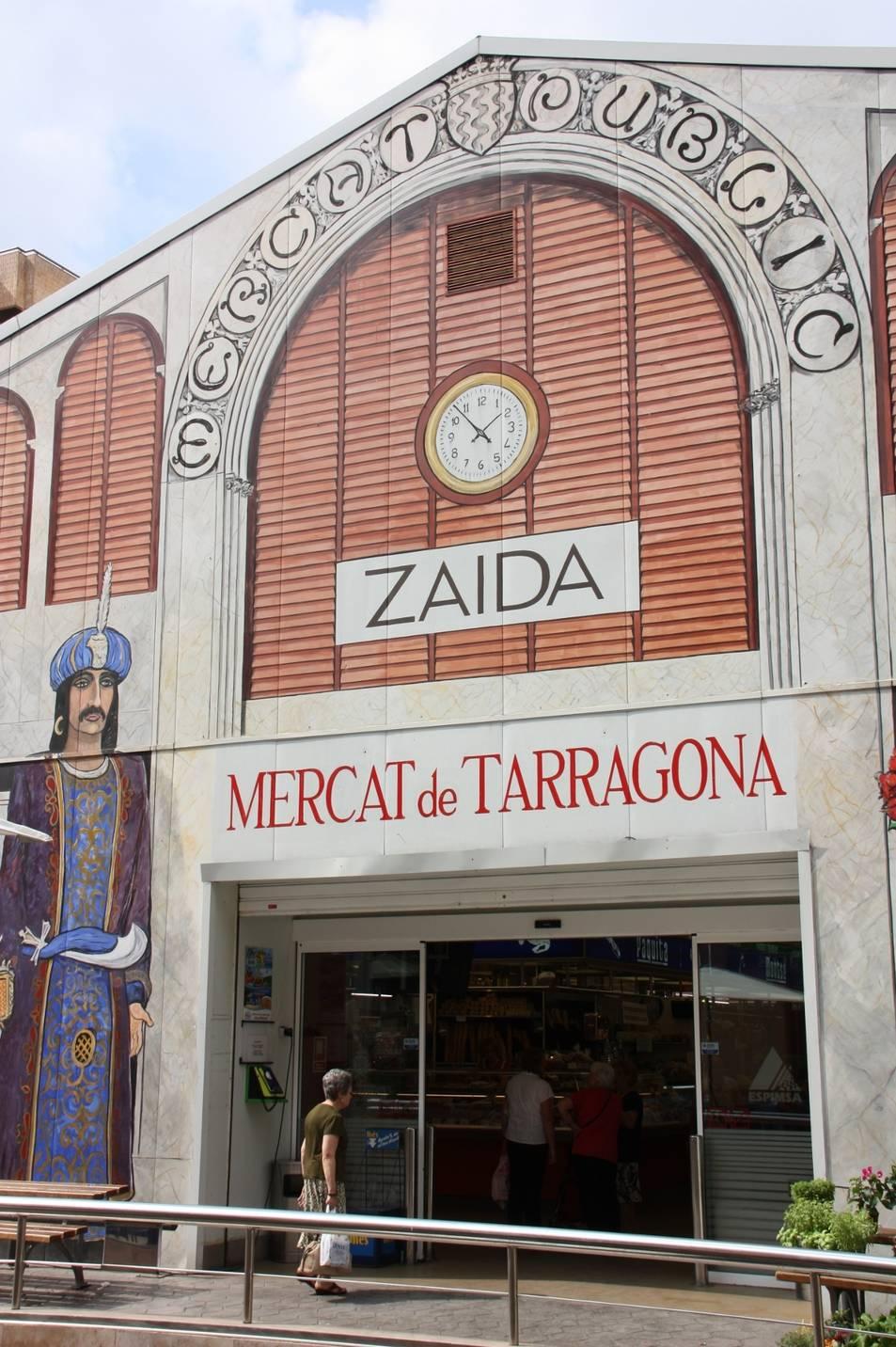 La façana del Mercat Central.