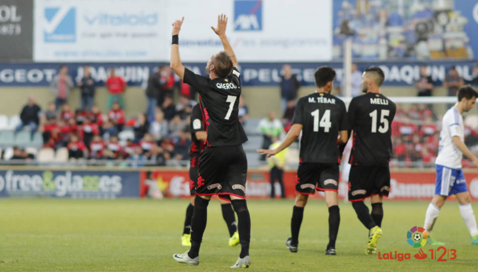 El gol de Querol, dedicat a Pitarque, apropa el Reus a la salvació.