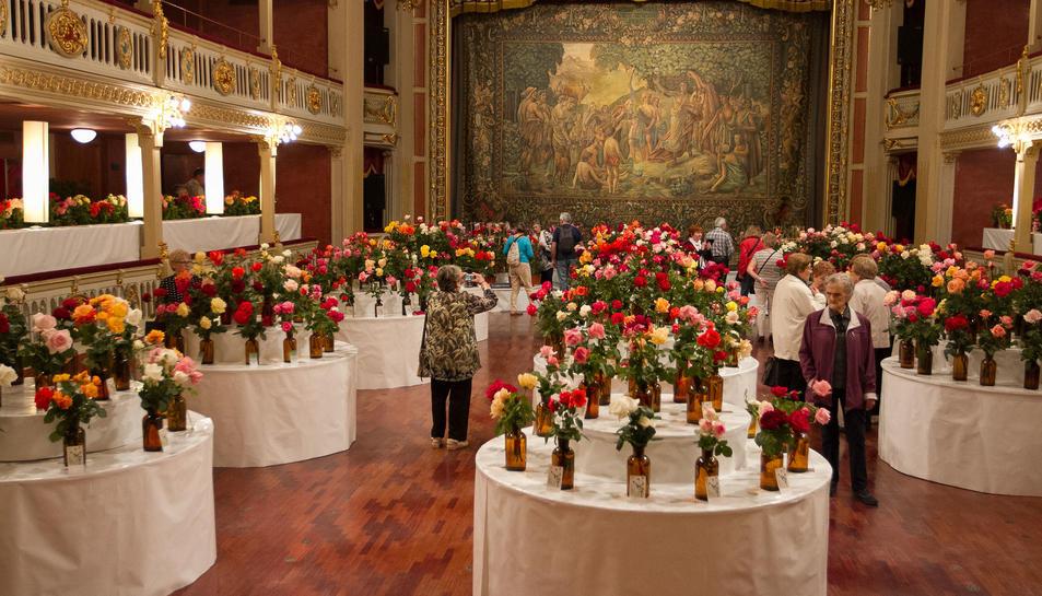 70º Concurso-Exposición de Roses