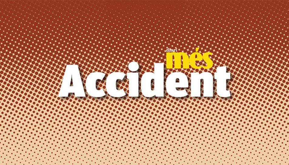 L'accident s'ha produït a la C-14 al seu pas per la Selva del Camp.