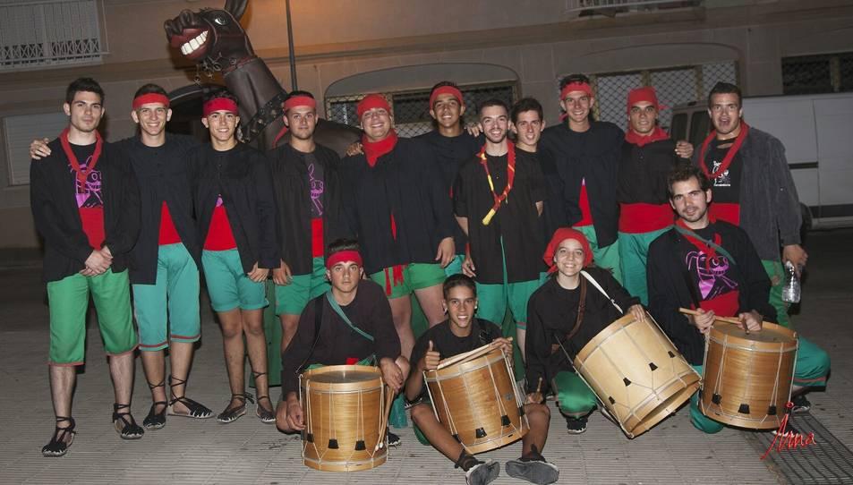 Fotografia de família dels mulassers de Torredembarra.