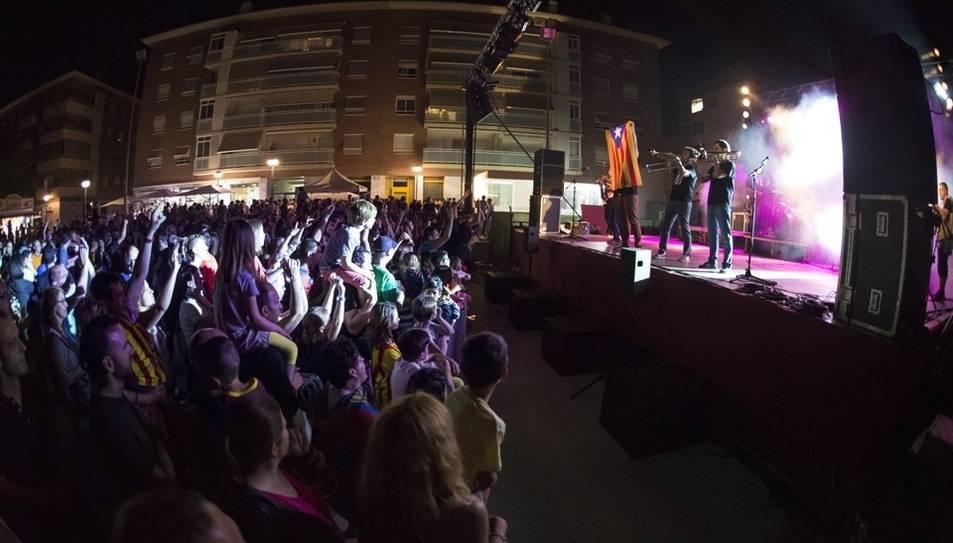 L'actuació de Xeic! a l'última edició del certamen musical.
