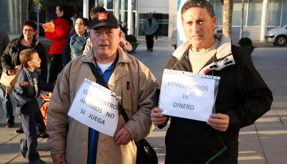 Dos afectats per la fallida de la Cooperativa de Cambrils, que va motivar la creació del fons.