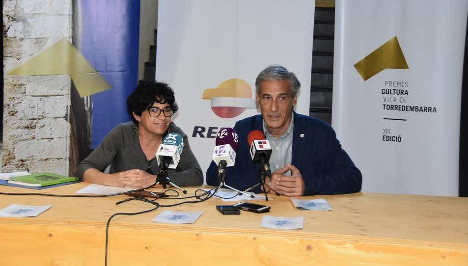 Un moment de la presentació dels premis, que ha tingut lloc aquest dimecres a Torredembarra.